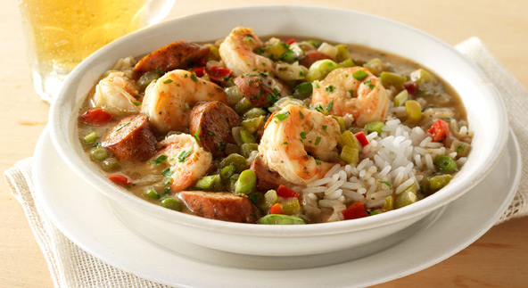 Soup Recipes: Recipe for New Orleans Seafood Gumbo Gumbo B